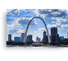 St Louis City Skyline. Canvas Print