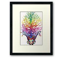 """In the Brain"" Framed Print"