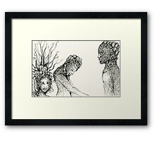 """""""People of Earth"""" Framed Print"""