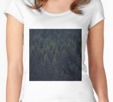 Deep In The Woods Women's Fitted Scoop T-Shirt