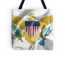 United States Virgin Islands Flag Tote Bag