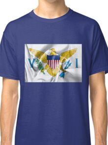 United States Virgin Islands Flag Classic T-Shirt