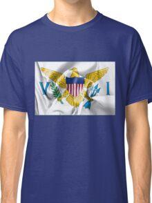 United States Virgin Islands Flag Classic T-Shirt