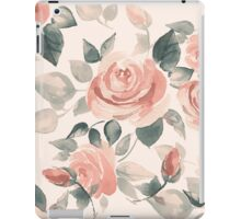 Background with beautiful roses iPad Case/Skin