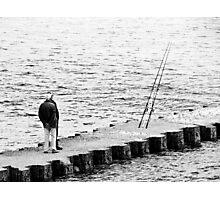 Boys what fish Photographic Print