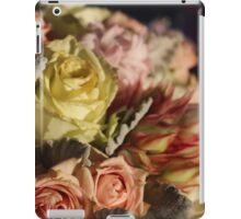 Pastel colours bouquet. iPad Case/Skin