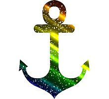 Colorful anchor Photographic Print