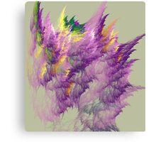 PURPLE CORRALS Canvas Print
