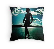 There she Glows Throw Pillow