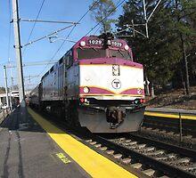1029 MBTA Commuter Rail by Eric Sanford