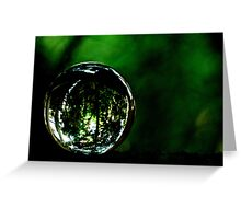 Saved The Green World...Got Explore Featured Work, Win in the challenges... Greeting Card