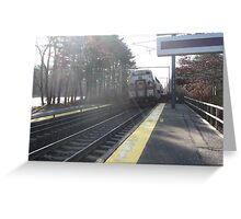 1122 MBTA Commuter Rail (OUTBOUND) Greeting Card