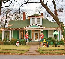 Decorated for Christmas  by Susan Russell
