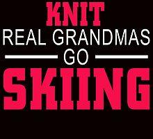 some grandmas knit real grandmas go skiing by teeshirtz