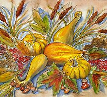 Fall Bounty by Betty Burnitt