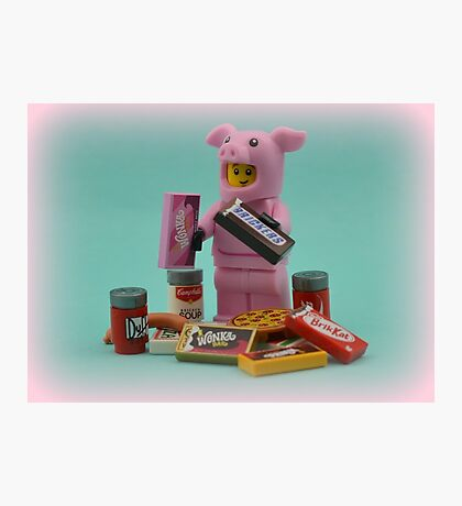 Go On Make A Pig Of Yourself Photographic Print