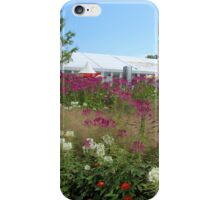 At a Flower Show iPhone Case/Skin