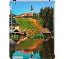 A village in the mirror iPad Case/Skin