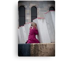 Hide and Seek - Adelaide Festival Theatre Canvas Print