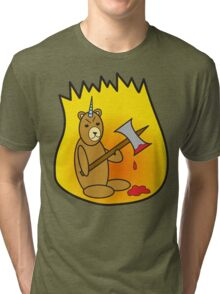 Spicy Unibear of Pain Tri-blend T-Shirt