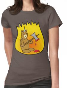 Spicy Unibear of Pain Womens Fitted T-Shirt
