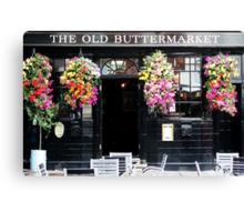 The Old Buttermarket Canvas Print