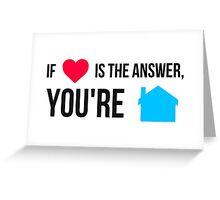Daft Punk - Love is the anwser Greeting Card