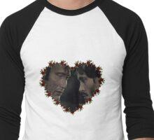 Hannigram Canon Heart Men's Baseball ¾ T-Shirt