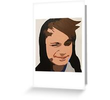 Michael Clifford Colour Painting  Greeting Card