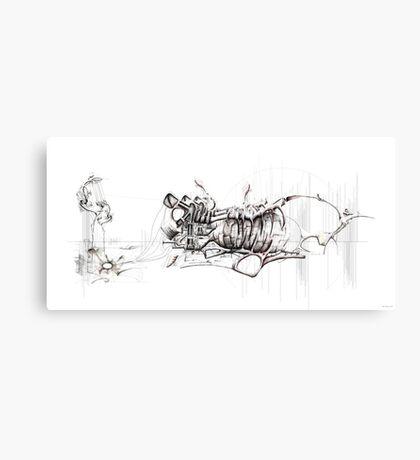 Sound Machine Canvas Print