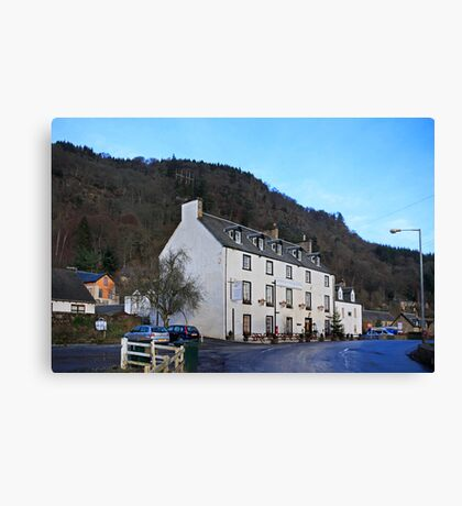 The Weem Hotel Canvas Print