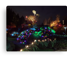 Night In The Sunken Garden (9) Canvas Print