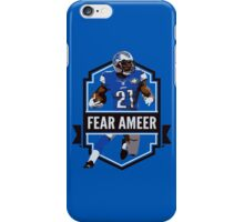 Fear Ameer - Ameer Abdullah - Detroit Lions iPhone Case/Skin