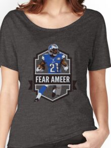 Fear Ameer - Ameer Abdullah - Detroit Lions Women's Relaxed Fit T-Shirt