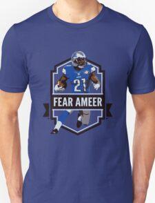 Fear Ameer - Ameer Abdullah - Detroit Lions T-Shirt