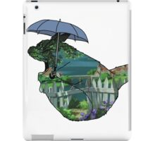 Totoro - by the sea iPad Case/Skin