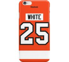 Philadelphia Flyers Ryan White Jersey Back Phone Case iPhone Case/Skin