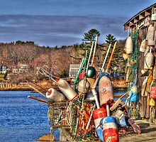 Cape Neddick Lobster Pound by Monica M. Scanlan