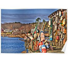 Cape Neddick Lobster Pound Poster
