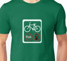 Bicycles make good sense Unisex T-Shirt
