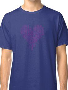 Daft Punk - Love Heart Classic T-Shirt