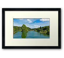 Stourhead Hall Gardens Framed Print