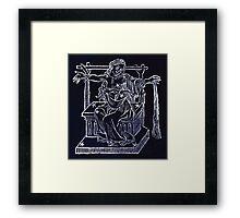 Hic Codex Auienii Continent Epigrama Astronomy Rufius Festivus Avenius 1488 Astronomy Illustrations 0151 Constellations Inverted Framed Print