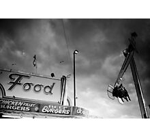 Looking Up - Royal Melbourne Show Photographic Print