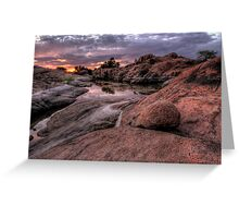 Reflection Cove Greeting Card