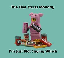 The Diet Starts Monday by minifignick