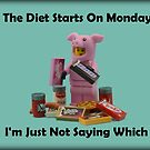 The Diet Starts On Monday by minifignick