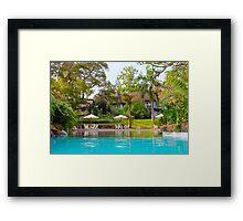 Nairobi Safari Park Resort, KENYA Framed Print