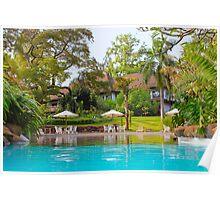 Nairobi Safari Park Resort, KENYA Poster