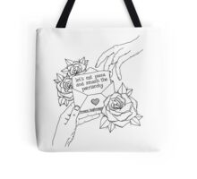 Smash The Patriarchy (Black) Tote Bag